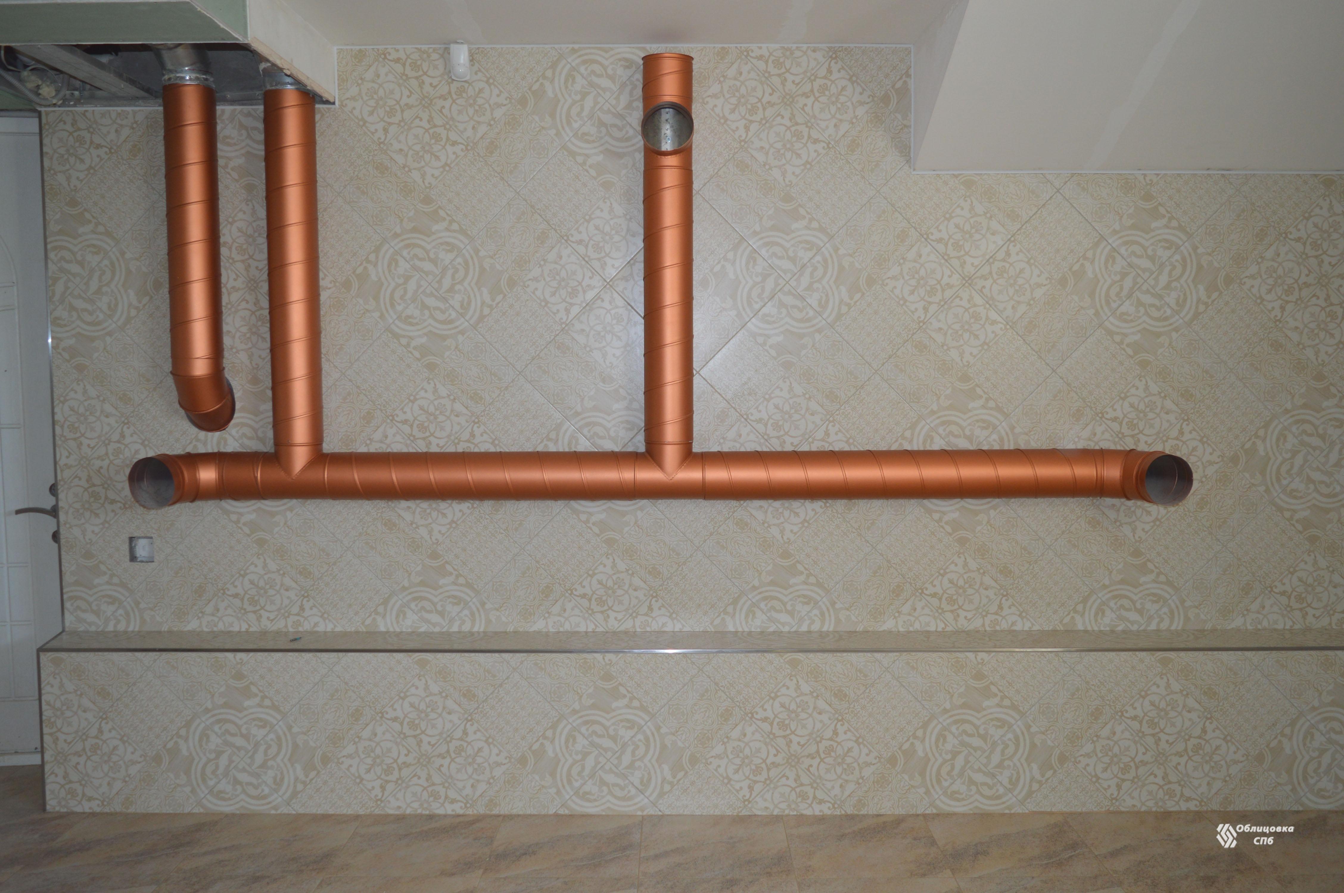 Диагональная облицовка стен керамогранитной плиткой